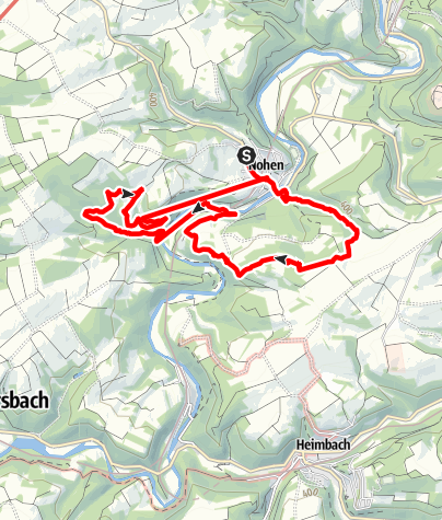 Karte / Nohener Naheschleife 12 km