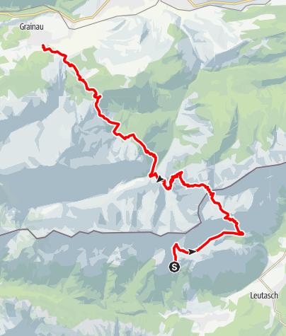 Karte / Trail - Weit und wild! Teil 2