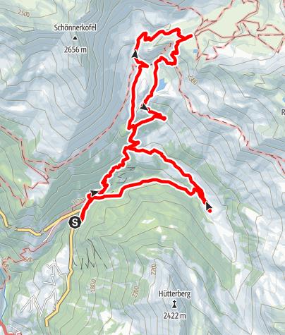 Karte / Schneeberg