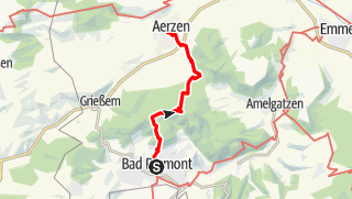 Karte / Pyrmont-Aerzen