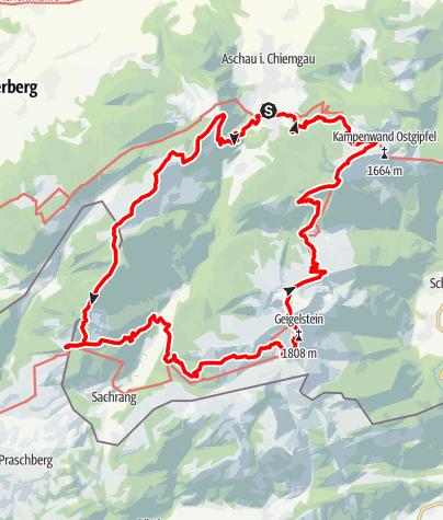 Karte / Aschauer Runde