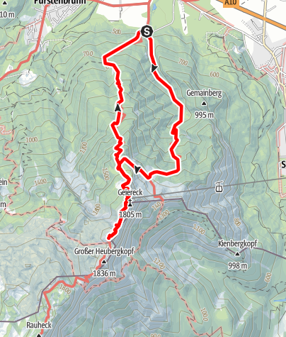 Karte / Untersberg