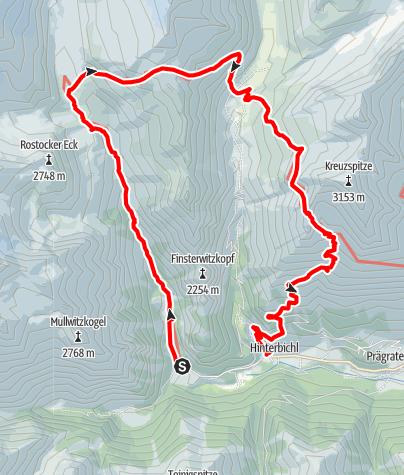 Karte / Venedigerrunde 2014