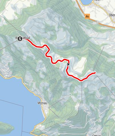 Karte / Auf die Königin der Berge