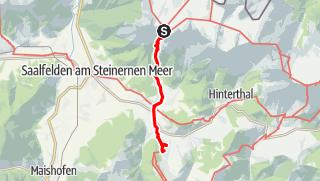 Karte / E10 I Tag 2 Riemannhaus-Maria Alm / Christenreith