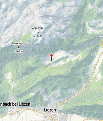 Karte / Hinteregger Alm  ~1260 m