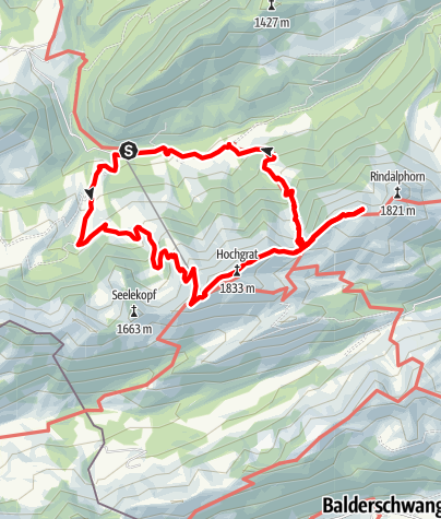 Map / Hochgrat