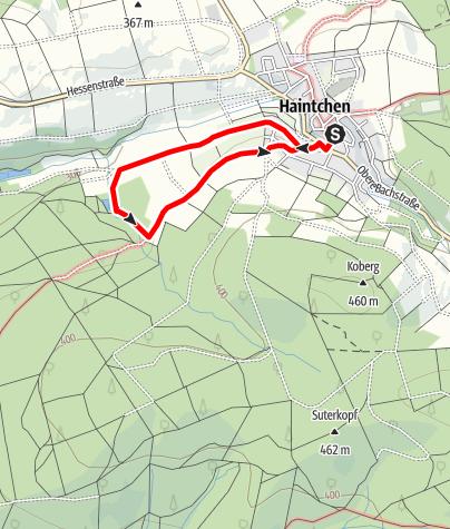 Karte / H3 Um den Hofküppel - Haintchen