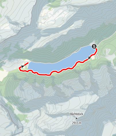 Karte / Klöntalersee