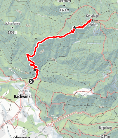 Karte / Peter Wiechenthaler Hütte