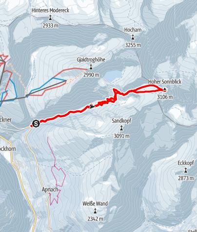 Karte / Sonnblick
