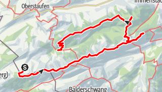 Map / Nagelfluhkette und Prodelkamm