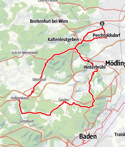 Map / Rodaun - Heiligenkreuz