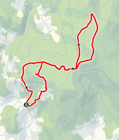 Karte / Hirschenstein-Schopftour