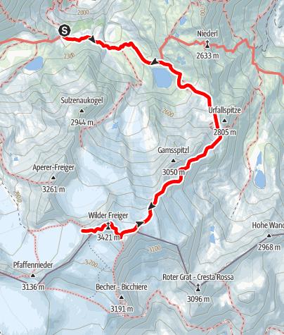 Map / CGR Summit 2015 Tag 2. -  Wilder Freiger