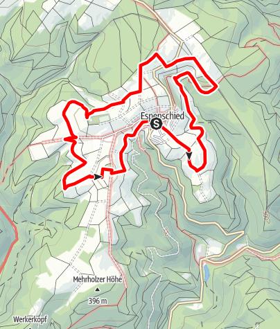 Karte / PWT Vorschlag - Lorch Espenschied - Wisperwiesenpfad