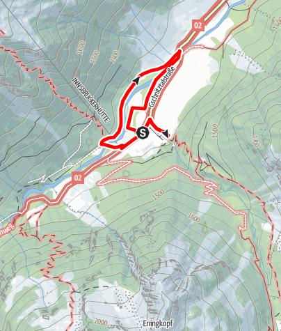 Map / Gesundheitswanderung Gschnitz Mühlendorfrunde