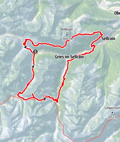 Karte / Sellrainer-24er
