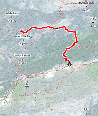 Karte / Salbitschijen