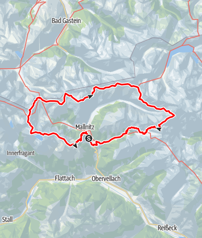 Karte / Mallnitzrunde