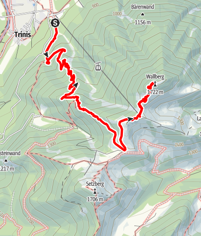 Karte / Wallberg
