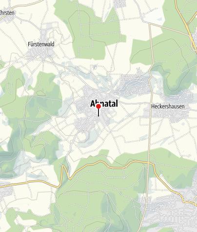 Karte / Bahnhof Ahnatal-Weimar