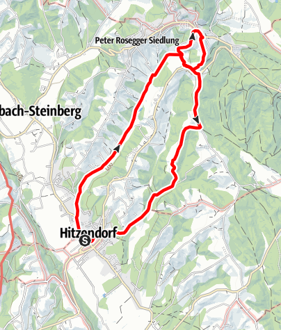 Karte / Hitzendorfer Mostwanderweg Nr.3 mit Steinbergschleife