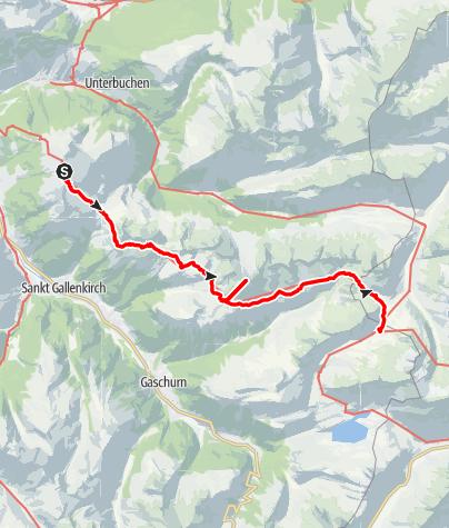 Karte / Wormser Höhenweg Tag2