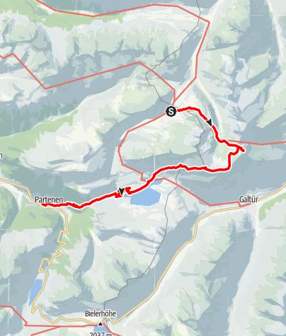 Karte / Wormser Höhenweg Tag3