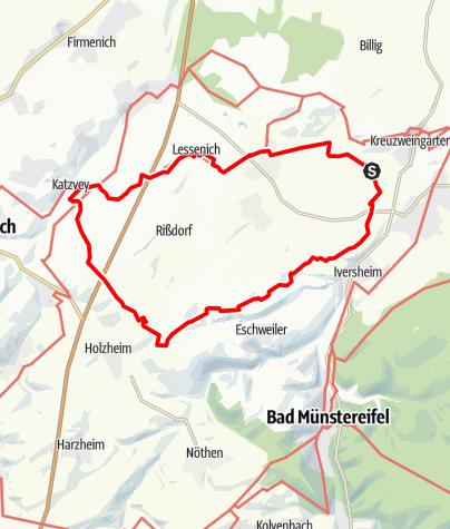 Karte / Rundwanderung KWG