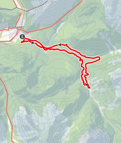 Karte / Gleirschklamm