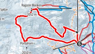 Karte / Damülser Runde