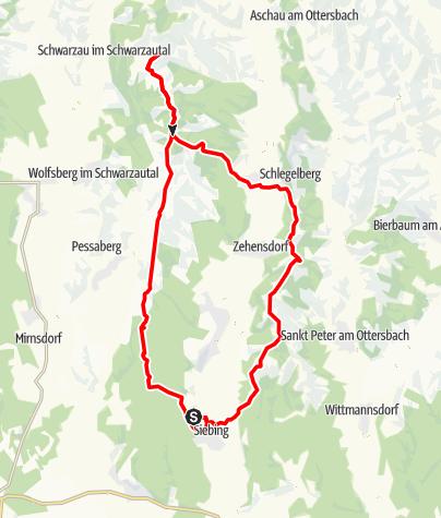 Karte / Rundwnderung, Jagerberg, Arena