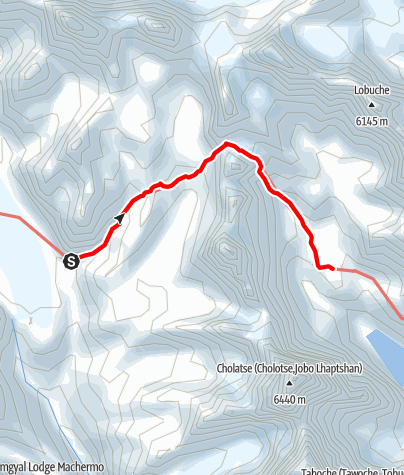 Map / 23.3. - Thangna to Dzongla via Cho La Pass
