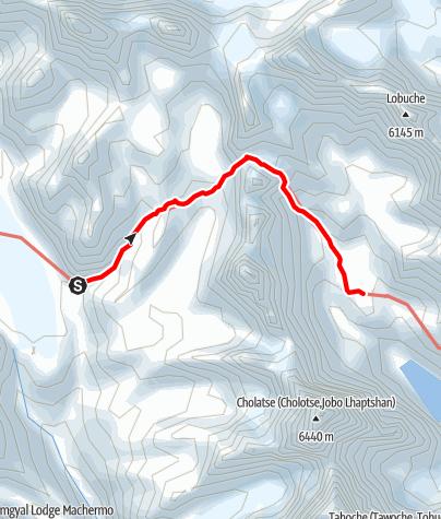 Map / 23.3. - Thangna to Dzongla via Cho La Pass