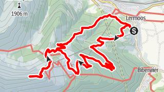 Karte / Grubigsteinbesteigung