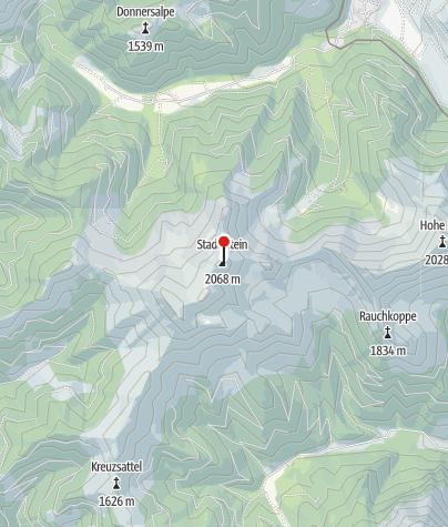 Karte / Stadlstein 2.072m