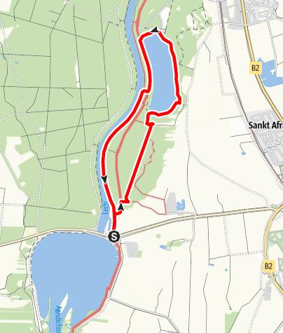 Karte / DAV Mering - Weitmannsee