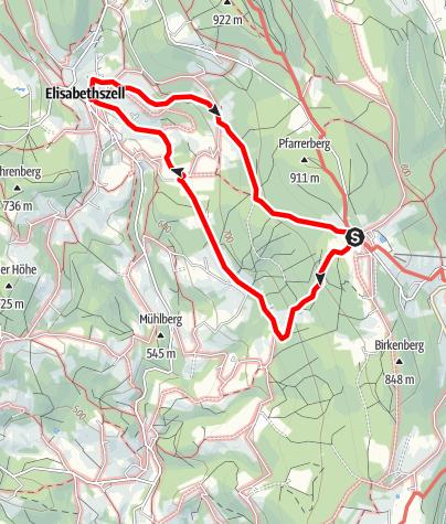 Karte / Elisabethszell von Maibrunn