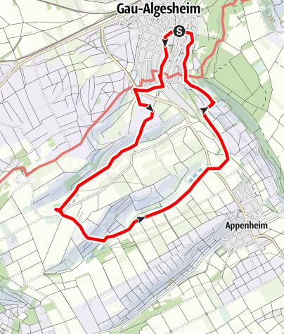 Karte / Drei-Bäche-Weg in Variation der Heimatwanderin