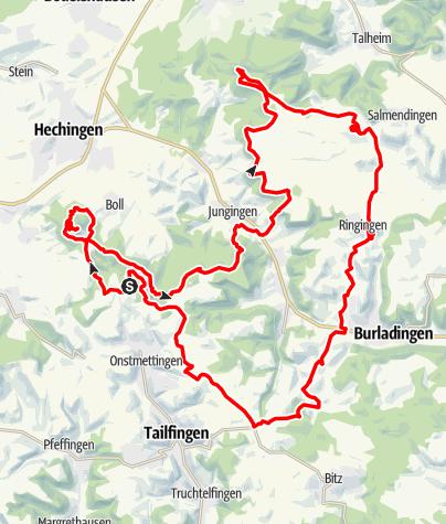 Karte / Panoramatour Raichberg-Dreifürstenstein-Ringingen