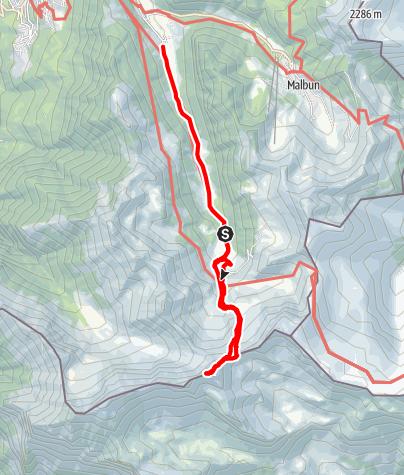 Karte / Schwarzhorn (2574)