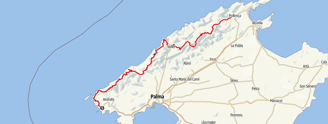 Karte / GR 221