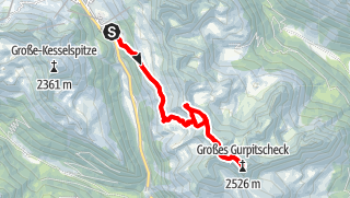 Karte / Gr.Gurpitscheck 2526m