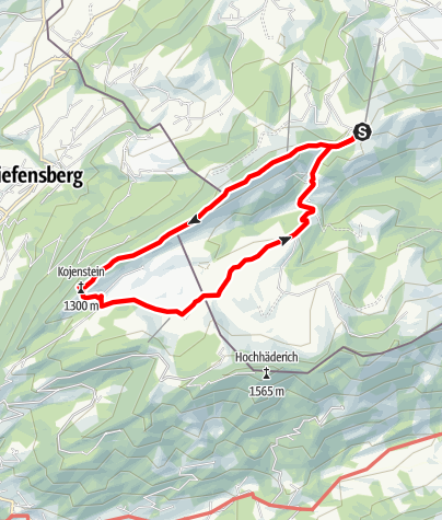 Map / Imberg Kojenstein