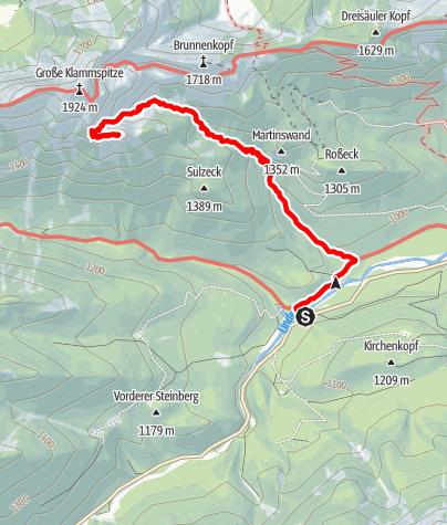Karte / Sefelwand, 09.07.2016