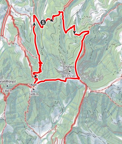Map / Napf ab Wigerehütte
