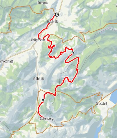 Karte / Entlebuch-Sörenberg