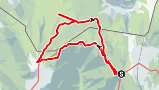 Karte / Eggenalm (Straubinger Hütte)