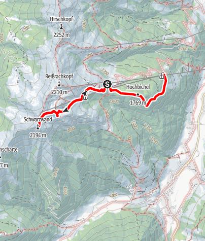 Karte / 1-Schwarzwand Genußwanderung-3,2 km